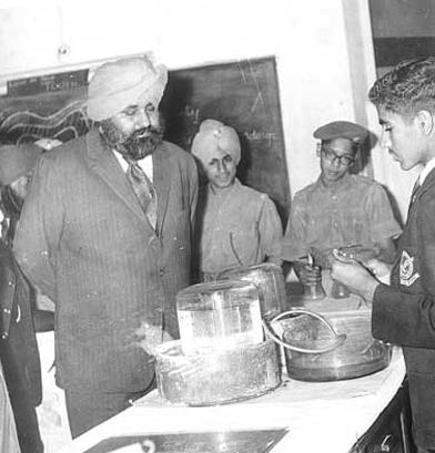 Ex CM Punjab, Shri Badal at the Exhibitions