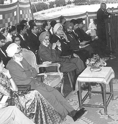 1966, Gov. Punjab, Mr. Pavate's address. Mrs. Teji Kulwant Singh, Col Naunihal Singh, Mr. GS Kahlon