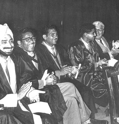 Mr. GS Punia, Mr. Kumar (PT), Mr. YP Bharadwaj, Mr. SC Cowell
