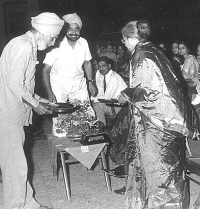 Founding Headmaster JK Kate's Farewell, Balbir Singh Saab ji, Mr. Punia, Mr. YP Johri, Mrs. Kate