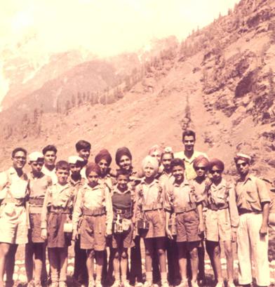 Trekking with Mr. BS Bhatnagar and Mr. MN Tankha
