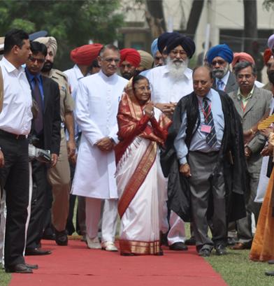 Golden Jubilee, Former Pres. Pratibha Patil