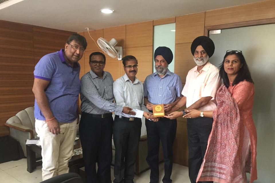 Team ONA called on Mr. Krishan Kumar, IAS,Secretary School Education, Punjab