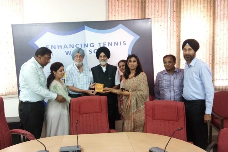 ONA Commitee called on Mr. Jai Singh Gill, IAS (Retd)
